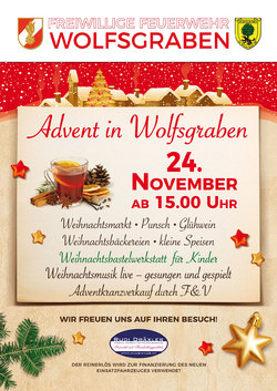 Advent in Wolfsgraben