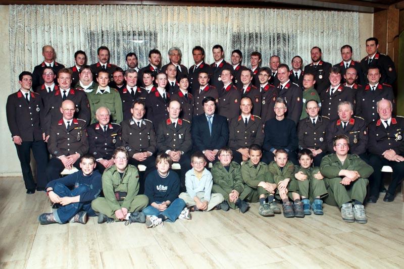 Mannschaft FF Wolfsgraben 2002