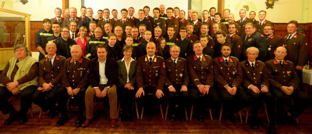 Mannschaft FF Wolfsgraben 2015