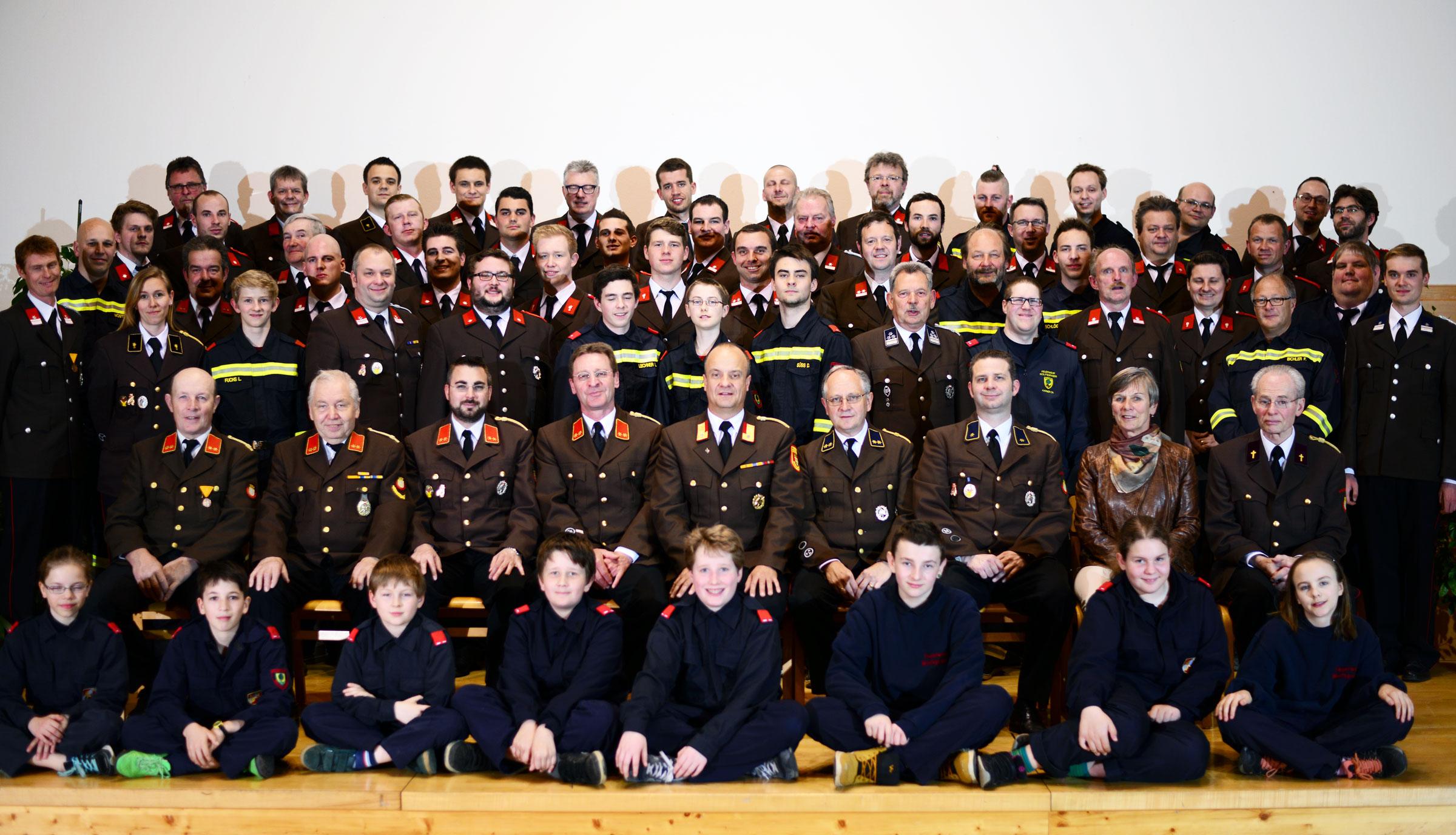 Mannschaft FF Wolfsgraben 2016