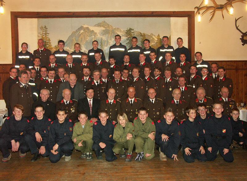 Mannschaft FF Wolfsgraben 2006